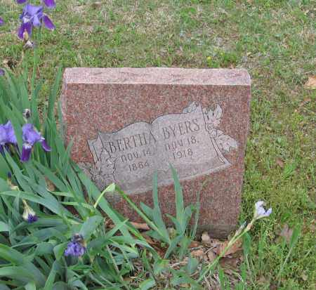 BYERS, BERTHA - Lawrence County, Arkansas | BERTHA BYERS - Arkansas Gravestone Photos