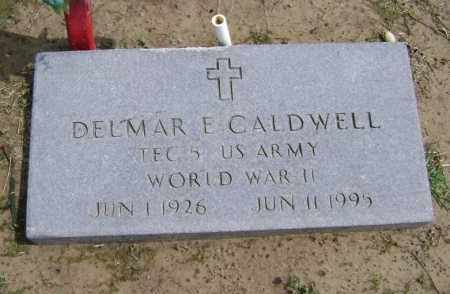 CALDWELL (VETERAN WWII), DELMAR EDWARD - Lawrence County, Arkansas | DELMAR EDWARD CALDWELL (VETERAN WWII) - Arkansas Gravestone Photos