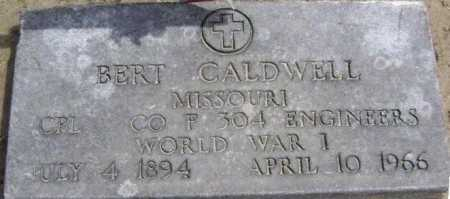 CALDWELL  (VETERAN WWI), BERT - Lawrence County, Arkansas | BERT CALDWELL  (VETERAN WWI) - Arkansas Gravestone Photos