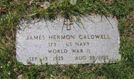 CALDWELL (VETERAN WWII), JAMES HERMON - Lawrence County, Arkansas | JAMES HERMON CALDWELL (VETERAN WWII) - Arkansas Gravestone Photos
