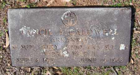 CALDWELL (VETERAN WWII), TANCIL A. - Lawrence County, Arkansas | TANCIL A. CALDWELL (VETERAN WWII) - Arkansas Gravestone Photos