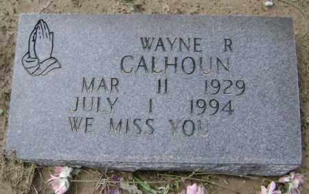 CALHOUN, WAYNE RICHARD - Lawrence County, Arkansas | WAYNE RICHARD CALHOUN - Arkansas Gravestone Photos