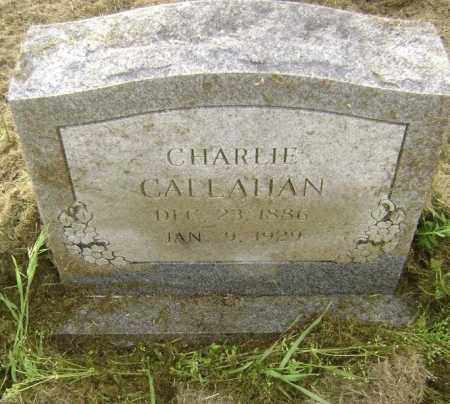 CALLAHAN, CHARLIE - Lawrence County, Arkansas | CHARLIE CALLAHAN - Arkansas Gravestone Photos