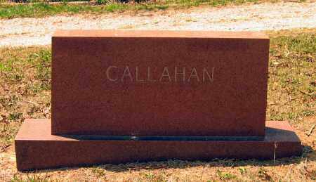 CALLAHAN FAMILY STONE,  - Lawrence County, Arkansas |  CALLAHAN FAMILY STONE - Arkansas Gravestone Photos