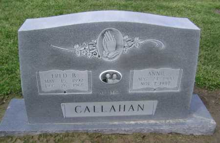 CALLAHAN, FRED B. - Lawrence County, Arkansas | FRED B. CALLAHAN - Arkansas Gravestone Photos