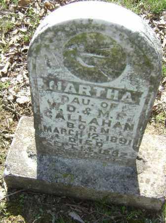 CALLAHAN, MARTHA - Lawrence County, Arkansas   MARTHA CALLAHAN - Arkansas Gravestone Photos