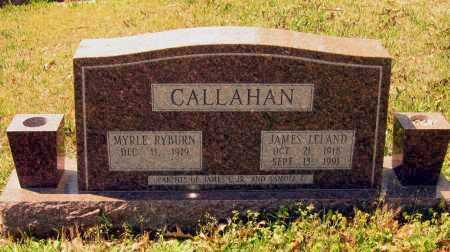 CALLAHAN, SR., JAMES LELAND - Lawrence County, Arkansas | JAMES LELAND CALLAHAN, SR. - Arkansas Gravestone Photos