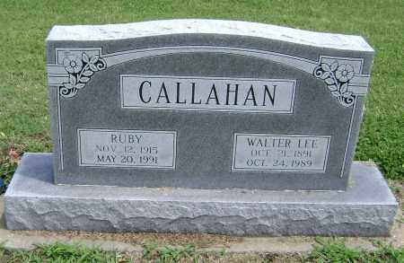CALLAHAN, WALTER LEE - Lawrence County, Arkansas | WALTER LEE CALLAHAN - Arkansas Gravestone Photos