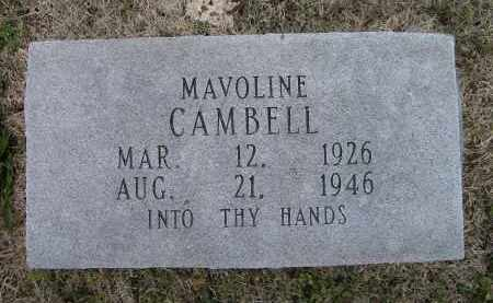 CAMBELL, MAVOLINE - Lawrence County, Arkansas | MAVOLINE CAMBELL - Arkansas Gravestone Photos