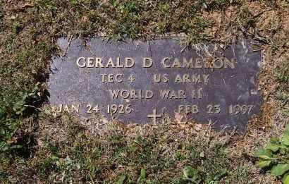 CAMERON (VETERAN WWII), GERALD DEWAYNE - Lawrence County, Arkansas | GERALD DEWAYNE CAMERON (VETERAN WWII) - Arkansas Gravestone Photos