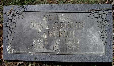 CAMERON, OPAL IONA - Lawrence County, Arkansas | OPAL IONA CAMERON - Arkansas Gravestone Photos