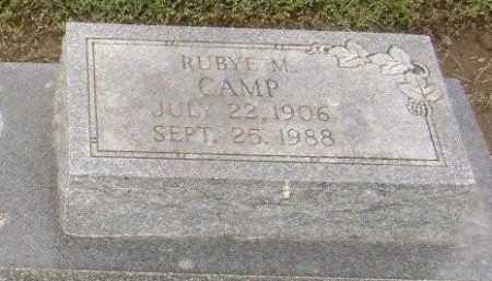 CAMP, RUBYE M. - Lawrence County, Arkansas | RUBYE M. CAMP - Arkansas Gravestone Photos