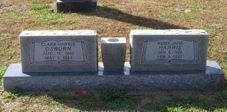 HARRIS, CLARA MCALISTER CAMPBELL - Lawrence County, Arkansas | CLARA MCALISTER CAMPBELL HARRIS - Arkansas Gravestone Photos