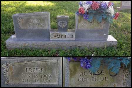 CAMPBELL, FRED F. - Lawrence County, Arkansas | FRED F. CAMPBELL - Arkansas Gravestone Photos