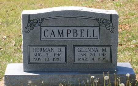CAMPBELL, HERMAN BERNARD - Lawrence County, Arkansas | HERMAN BERNARD CAMPBELL - Arkansas Gravestone Photos