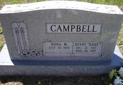 "CAMPBELL, HENRY EARL ""HANK"" - Lawrence County, Arkansas 