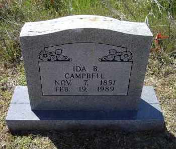 BROWN CAMPBELL, IDA - Lawrence County, Arkansas | IDA BROWN CAMPBELL - Arkansas Gravestone Photos