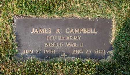 CAMPBELL (VETERAN WWII), JAMES RUSSELL - Lawrence County, Arkansas | JAMES RUSSELL CAMPBELL (VETERAN WWII) - Arkansas Gravestone Photos