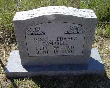 CAMPBELL (VETERAN WWII), JOSEPH EDWARD - Lawrence County, Arkansas | JOSEPH EDWARD CAMPBELL (VETERAN WWII) - Arkansas Gravestone Photos