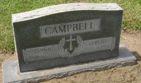CAMPBELL, GLYNN - Lawrence County, Arkansas | GLYNN CAMPBELL - Arkansas Gravestone Photos