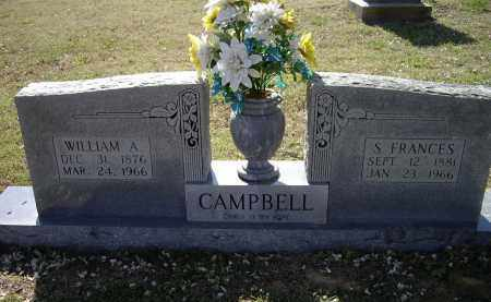 CAMPBELL, WILLIAM ALBERT - Lawrence County, Arkansas | WILLIAM ALBERT CAMPBELL - Arkansas Gravestone Photos