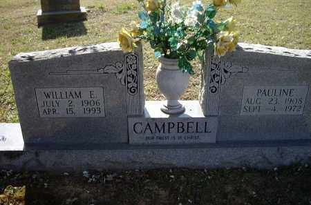 CAMPBELL, WILLIAM EVERETT - Lawrence County, Arkansas | WILLIAM EVERETT CAMPBELL - Arkansas Gravestone Photos