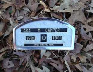 CAMPER, ARA M. - Lawrence County, Arkansas | ARA M. CAMPER - Arkansas Gravestone Photos