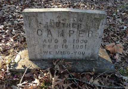 CAMPER, LUTHER - Lawrence County, Arkansas | LUTHER CAMPER - Arkansas Gravestone Photos