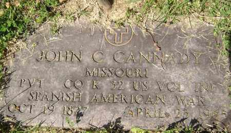 CANNADY (VETERAN SAW), JOHN C. - Lawrence County, Arkansas | JOHN C. CANNADY (VETERAN SAW) - Arkansas Gravestone Photos
