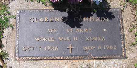 CANNADY (VETERAN 2 WARS), CLARENCE - Lawrence County, Arkansas | CLARENCE CANNADY (VETERAN 2 WARS) - Arkansas Gravestone Photos