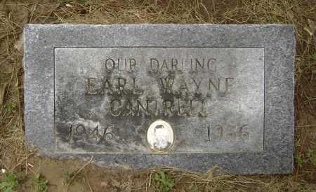 CANTRELL, EARL WAYNE - Lawrence County, Arkansas   EARL WAYNE CANTRELL - Arkansas Gravestone Photos