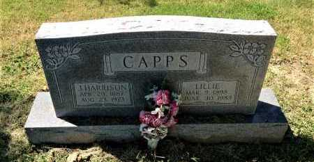 CAPPS, LILLIE - Lawrence County, Arkansas | LILLIE CAPPS - Arkansas Gravestone Photos