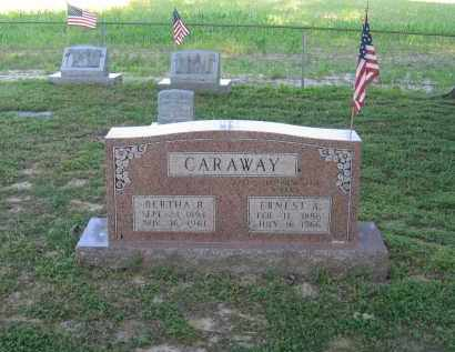 CARAWAY, BERTHA B. - Lawrence County, Arkansas | BERTHA B. CARAWAY - Arkansas Gravestone Photos