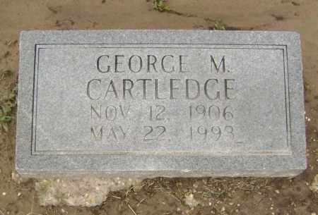 CARTLEDGE, GEORGE M. - Lawrence County, Arkansas | GEORGE M. CARTLEDGE - Arkansas Gravestone Photos