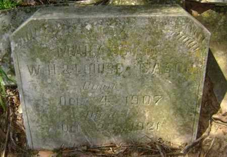 CASON, MARY - Lawrence County, Arkansas | MARY CASON - Arkansas Gravestone Photos