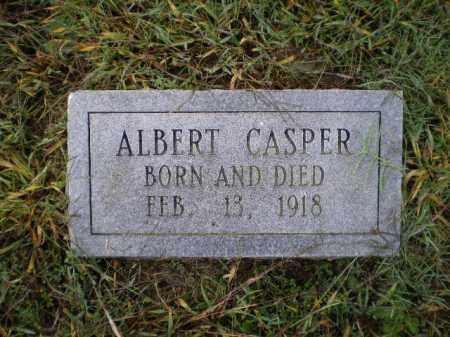CASPER, ALBERT - Lawrence County, Arkansas | ALBERT CASPER - Arkansas Gravestone Photos