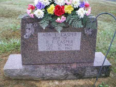 CASPER, ADA L. - Lawrence County, Arkansas | ADA L. CASPER - Arkansas Gravestone Photos