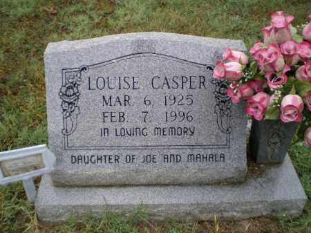 CASPER, LOUISE DELMA - Lawrence County, Arkansas | LOUISE DELMA CASPER - Arkansas Gravestone Photos