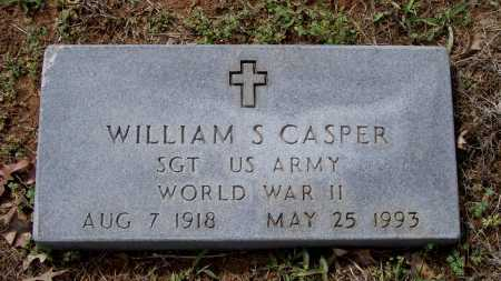 CASPER (VETERAN WWII), WILLIAM SEWELL - Lawrence County, Arkansas | WILLIAM SEWELL CASPER (VETERAN WWII) - Arkansas Gravestone Photos