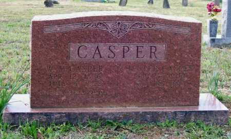 CASPER, WILLIE VERNON - Lawrence County, Arkansas | WILLIE VERNON CASPER - Arkansas Gravestone Photos