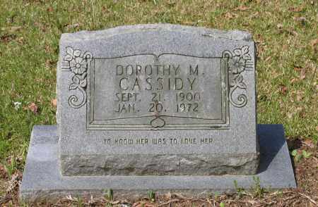 CASSIDY, DOROTHY M. - Lawrence County, Arkansas | DOROTHY M. CASSIDY - Arkansas Gravestone Photos