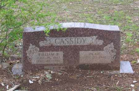 "CASSIDY, WILLIAM BUCKLEY ""BILLY"" - Lawrence County, Arkansas 