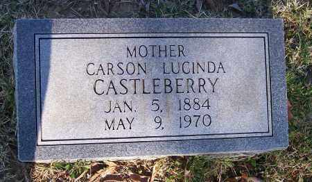 SMITH CASTLEBERRY, CARSON LUCINDA - Lawrence County, Arkansas | CARSON LUCINDA SMITH CASTLEBERRY - Arkansas Gravestone Photos
