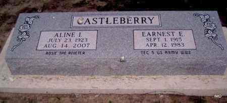 VEAL CASTLEBERRY, ALINE I. - Lawrence County, Arkansas | ALINE I. VEAL CASTLEBERRY - Arkansas Gravestone Photos