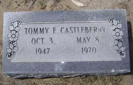 CASTLEBERRY, TOMMY E. - Lawrence County, Arkansas | TOMMY E. CASTLEBERRY - Arkansas Gravestone Photos