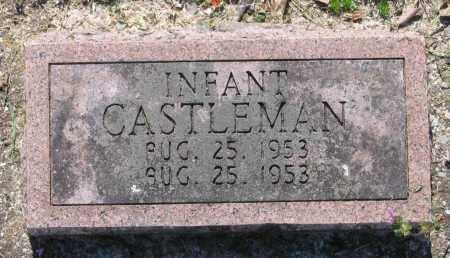 CASTLEMAN, INFANT - Lawrence County, Arkansas | INFANT CASTLEMAN - Arkansas Gravestone Photos