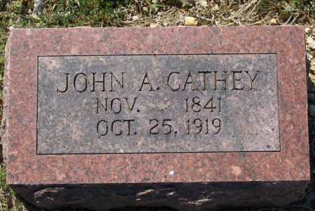 CATHEY (VETERAN CSA), JOHN A. - Lawrence County, Arkansas | JOHN A. CATHEY (VETERAN CSA) - Arkansas Gravestone Photos