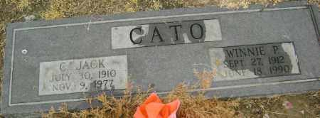 CATO, CARROLL JACK - Lawrence County, Arkansas | CARROLL JACK CATO - Arkansas Gravestone Photos