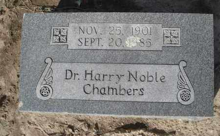 CHAMBERS, DDS, HARRY NOBLE - Lawrence County, Arkansas | HARRY NOBLE CHAMBERS, DDS - Arkansas Gravestone Photos