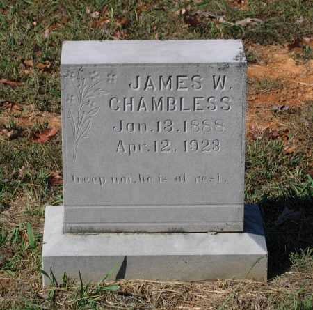 CHAMBLESS, JAMES W. - Lawrence County, Arkansas | JAMES W. CHAMBLESS - Arkansas Gravestone Photos